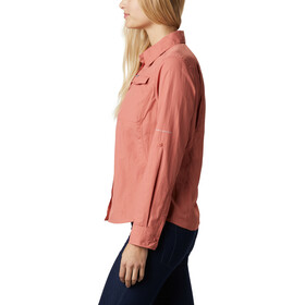 Columbia Silver Ridge 2.0 Longsleeve Shirt Women dark coral